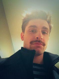 Edmonton Oilers' Mark Arcobello. #Movember