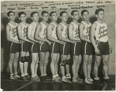 Irene Kaufmann Settlement, junior basketball team, Dec. 1929 by Center for Jewish History, NYC, via Flickr