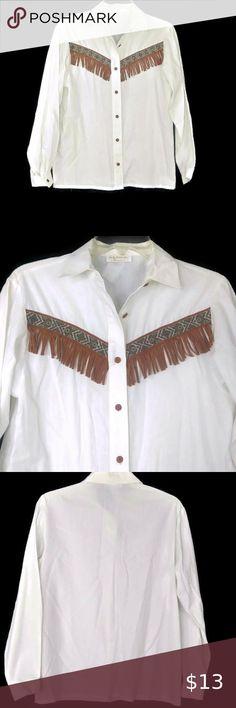 Italian Linen Cream White Vintage Blouse 90/'s Short Sleeve Feminine Made in Italy Bohemian Boho M Lina Tomei