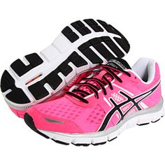 Couldn't find the rainbow New Balances in my size, so I settled for neon pink ASICS Pink Running Shoes, Pink Shoes, New Shoes, Workout Shoes, Workout Gear, Pink Workout, Workouts, Outfit Work, Style