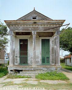 Shotgun House, New Orleans, Louisiana, 1999 Brian Vanden Brink photography