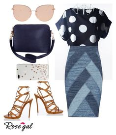 """""""Untitled #36"""" by zagojhe ❤ liked on Polyvore featuring BCBGMAXAZRIA, Dsquared2, Humble Chic, Topshop and Kate Spade"""