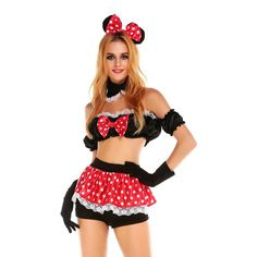 Minnie mouse costume disfraces adultos halloween costumes y halloween costume for women cosplay joker costume carnaval Alternative Measures