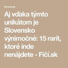 Aj vďaka týmto unikátom je Slovensko výnimočné: 15 rarít, ktoré inde nenájdete - Fičí.sk Math Equations, India