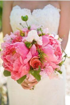 Roze Bruidsboeket: Uitbarsting van vreugdevolle kleuren