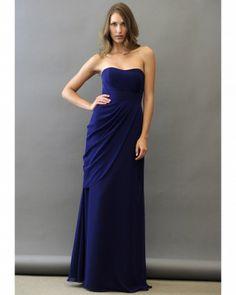 "Jim Hjelm Occassions bridesmaids ""Floor-Length Purple Bridesmaid Dress """