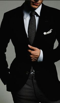 Black is always astounding☆ Suit Up SUITS ONLY!