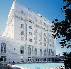 The Copacabana Palace in Rio de Janeiro