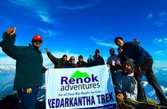 Kedarkantha Trek >>>  #KedarkanthaTrek is a classic winter trek. The trek provides a great opportunity for trekkers to see the scenic beauty and experience the life of remote villages of #GarhwalHimalayas.  #camping #trekker #trekking #KedarkanthaTrek