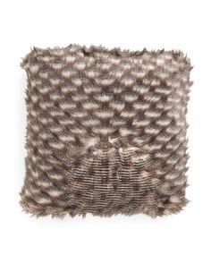 20x20+Faux+Fur+Pillow