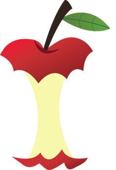Résultats de recherche d'images pour « apple core clipart »