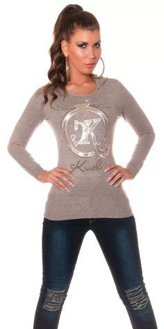 Dívčí svetr s kapucí Graphic Sweatshirt, Sweatshirts, Sweaters, Fashion, Tunic, Moda, Fashion Styles, Trainers, Sweater
