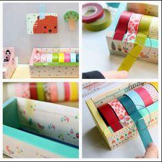 Caja para las Washi Tapes
