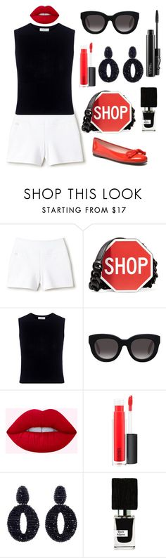 """SHOP!!!"" by theodor44444 ❤ liked on Polyvore featuring Lacoste, Moschino, A.L.C., Muse, MAC Cosmetics, Oscar de la Renta and Nasomatto"