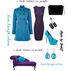 I look better in purple