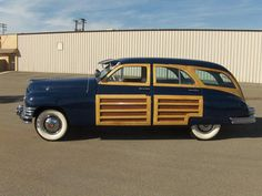 Packard Woody 1948, love this old school car