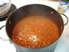 Colin Sato: Acura Discussion - Cooking - Copycat Zippy's Chili