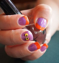 Disney Nail Ideas Designs Little Disney Nail Designs, Cool Nail Designs, Fancy Nails, Pretty Nails, Cruise Nails, Cat Nail Art, Disney Nails, Disney Toes, Striped Nails