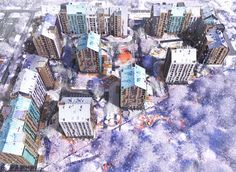 Archimatika Architects Unveils Lively Plans for New Ukrainian Housing Project | ArchDaily