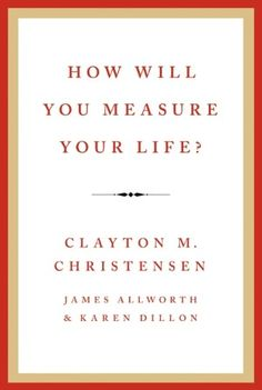 Book by @claychristensen: In 2010 world-renowned innovation expert Clayton M. Christensen gave a powerful speech to the Harvard Business School's graduating class. Drawing upon his business research, he offered a series of guidelines for finding meaning and happiness in life. He used examples from his own experiences to explain how high achievers can all too often fall into traps that lead to unhappiness.
