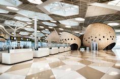 Heydar Aliyev Airport of Baku, in Azerbaigian | Arketipo