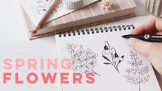 Learn To Draw Flowers Doodle Drawings, Doodle Art, Learn To Draw Flowers, Watercolor Pans, Artist Pens, Flower Doodles, Drawing Tips, Drawing Techniques, Paint Set