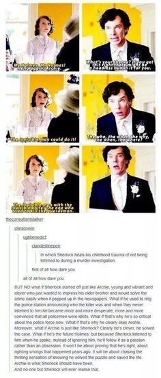 Sherlock = Archie