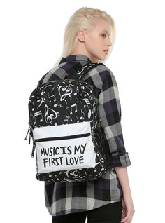 Music will always have your back // Music Is My First Love Backpack