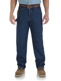 Mens Wrangler Work Horse Jeans 3W001Ai - Texas Boot Company is located in Bastrop, Texas. www.texasbootcompany.com