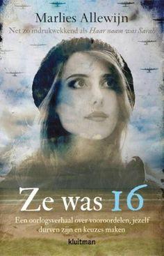Lees hier de recensie van 'Ze was 16' (Marlies Allewijn)