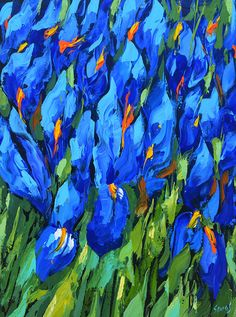 Hey, I found this really awesome Etsy listing at https://www.etsy.com/listing/280300202/blue-irises-2-high-quality-print-on