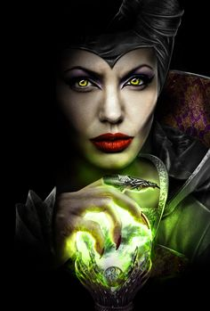 Personal Project on Maleficent Promotional Movie Poster by Chris Christodoulou