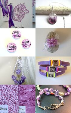 ♥~*~♥ PAY IT FORWARD IN PURPLE ♥~*~♥ by cyndi on Etsy--Pinned with TreasuryPin.com