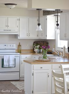 Kitchen Makeover Reveal - One Room Challenge Week 6 - Timeless Creations, LLC