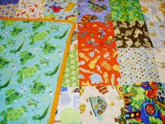 Snips and Snails Baby Quilt