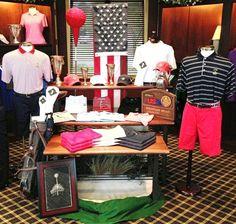 Visual Merchandising. Golf Display. US Open. Fountain Head Country Club
