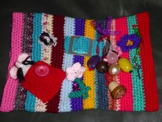 Twiddle muff I am donating to my local dementia group.