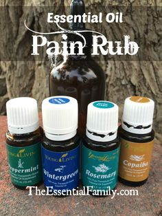I totally hit the sweet spot with this HIGHLY effective essential oil pain rub. Even my husband, who is a hard pain case thought it worked amazingly. He hurt himself seriously at work and couldn't move his arm until he tried this recipe and then was able to resume his normal daily activities in just about 24 hours. You will LOVE it! www.TheEssentialFamily.com
