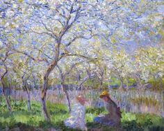 "Primavera, per fi! Monet, Claude   ""Primavera""   ""Printemps"" (1886)"