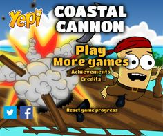 En este juego tienes que eliminar a los piratas que quieren robar tus tesoros, con un gran cañón lanza bombas para hacer explotar a estos malos piratas y derribarlos en cada nivel, calcula la dirección y la potencia del lanzamiento.