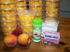 lunch box peaches