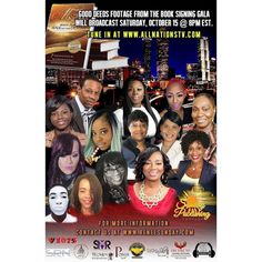 Manifestation Now Book signing Gala Footage by Good Deeds TV Show will air with Tracey Smith Hollingshed - Special Reporter today at 2 PM EST on All Nations TV Network. Tune in by going to - www.allnationstv.com  #platformbuilder #media #interviewing #Atlanta #gooddeeds #interviewing #manifestationsnowgala #bestsellingauthors #advertising #radio #TV #gooddeedslive #sponsorship #joy #peace #faith