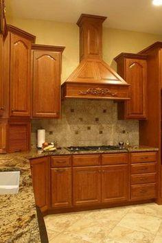backsplash ideas for granite countertops   Granite Countertops and Tile Backsplash Ideas eclectic kitchen