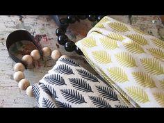 Askartele pyyhelenkkejä puuhelmistä - YouTube