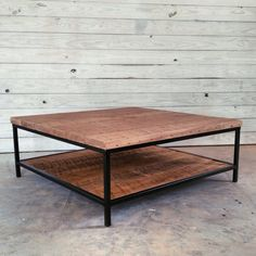 Reclaimed Wood Coffee Table by RevivalSupplyCo on Etsy