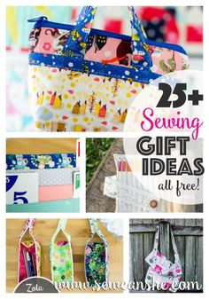 SewCanShe features a new free sewing pattern every day - perfect for beginners and experienced sewists. Visit daily for free sewing tutorials and patterns. Easy Sewing Projects, Sewing Projects For Beginners, Sewing Hacks, Sewing Tutorials, Sewing Tips, Sewing Ideas, Tutorial Sewing, Wallet Tutorial, Sewing Blogs