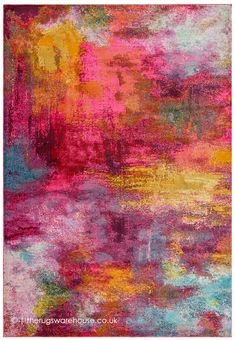 Amelie, Abstract Pattern, Colorful Rugs, Different Colors, Colours, Carpets, Painting, Chiffon, London