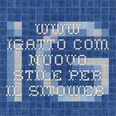 www.igatto.com nuovo stile per il sitoweb