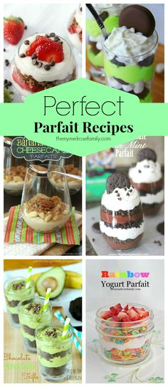 Perfect Parfait Recipes
