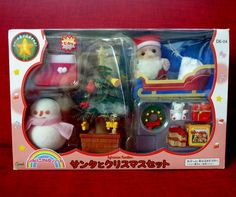 SANTA CLAUS WITH MOVING GIFT CHARM LOT OF 2 SP